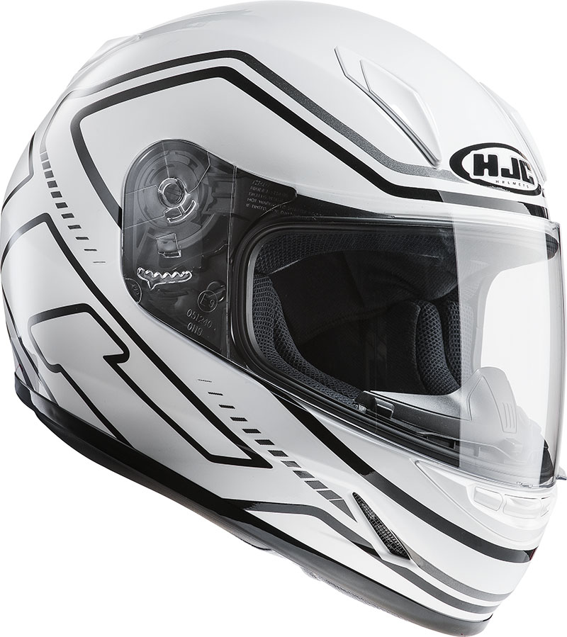 Motorcycle helmet HJC CLY integral child care MC10