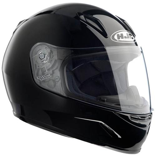 HJC CLY full face kid helmet Metal Black