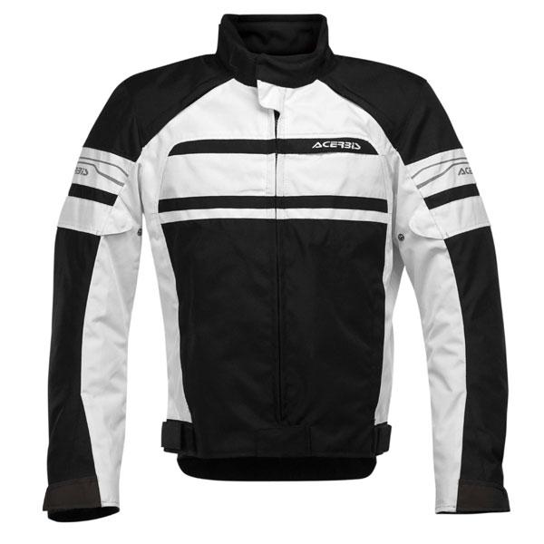Motorcycle jacket Acerbis Clypse Black White