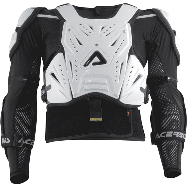 Acerbis Cosmo body armour level 2 White
