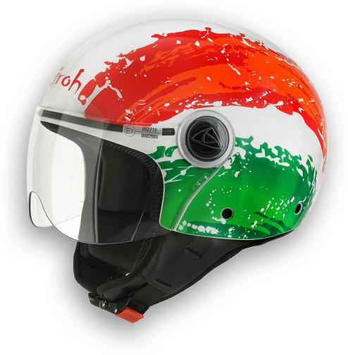 Casco moto Airoh Compact Flag