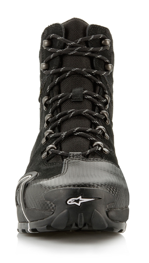 Alpinestars CR-4 Gore-Tex XCR motorcycle shoes anthracite-red