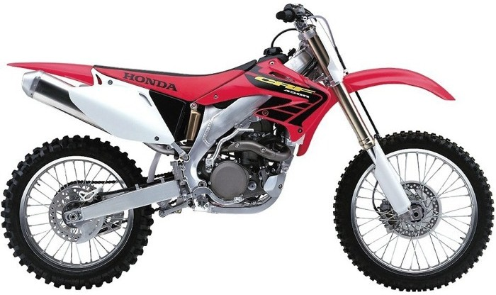 Ufo replacement plastic kit Honda CRF250cc 06-07 Original Col
