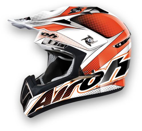 Airoh CR900 Linear off-road helmet orange