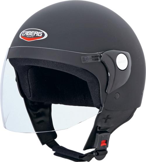 Casco moto Caberg Cruiser Visor nero opaco