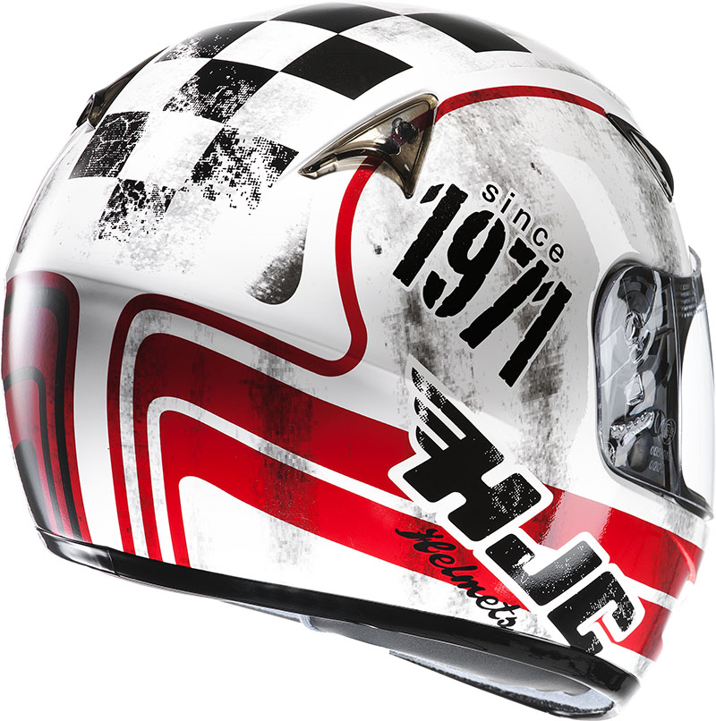 Casco integrale HJC CS14 Check 71 MC1