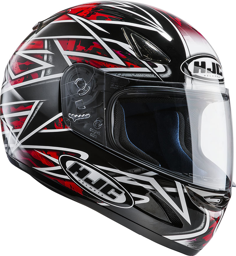 Full face helmet HJC CS14 Orbit MC1