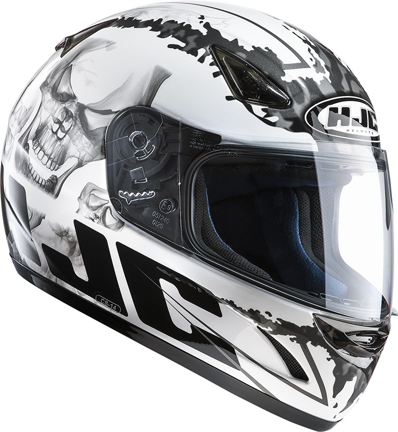 Casco integrale HJC CS14 G Skull MC10