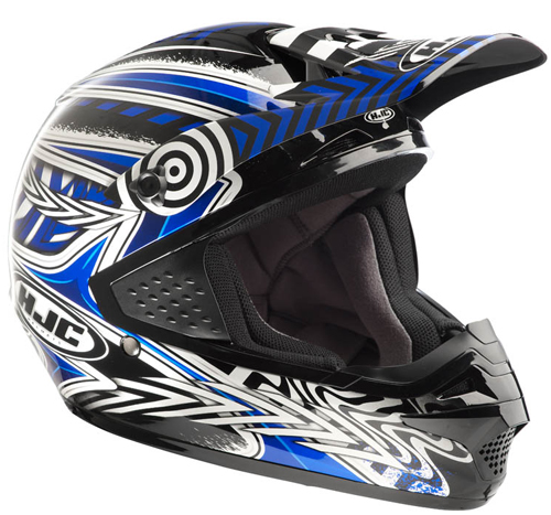 Casco moto cross HJC CSMX Charge MC2