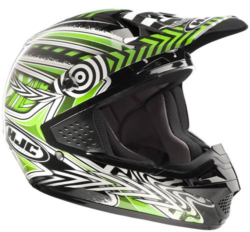 Casco moto cross HJC CSMX Charge MC4