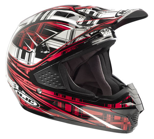 HJC CSMX Stagger MC1 off road helmet