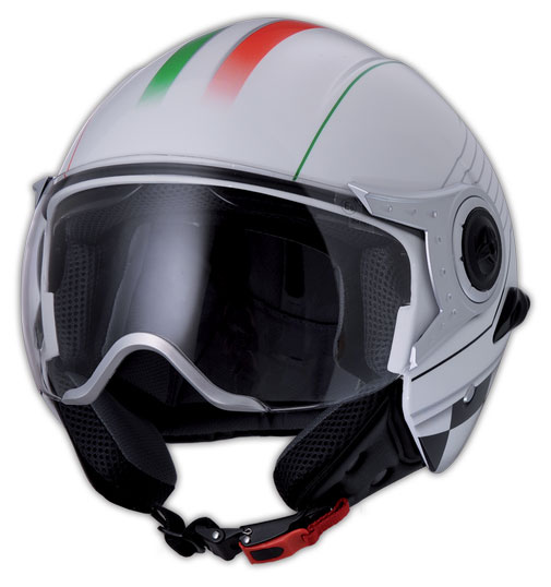 Humans New Cubetto jet helmet Italia