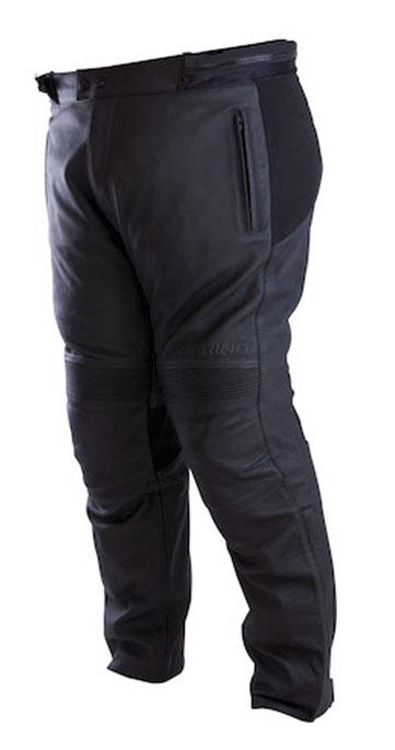 Approved leather motorcycle pants Bering Hercule King Size Black