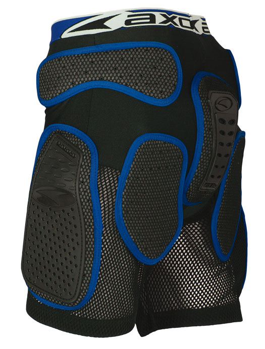 Protective Shorts AXO Rock Pant Black Blue
