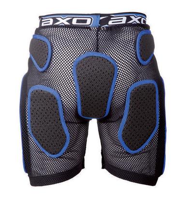 Pantaloncini protettivi AXO Rock Pant Nero Bianco