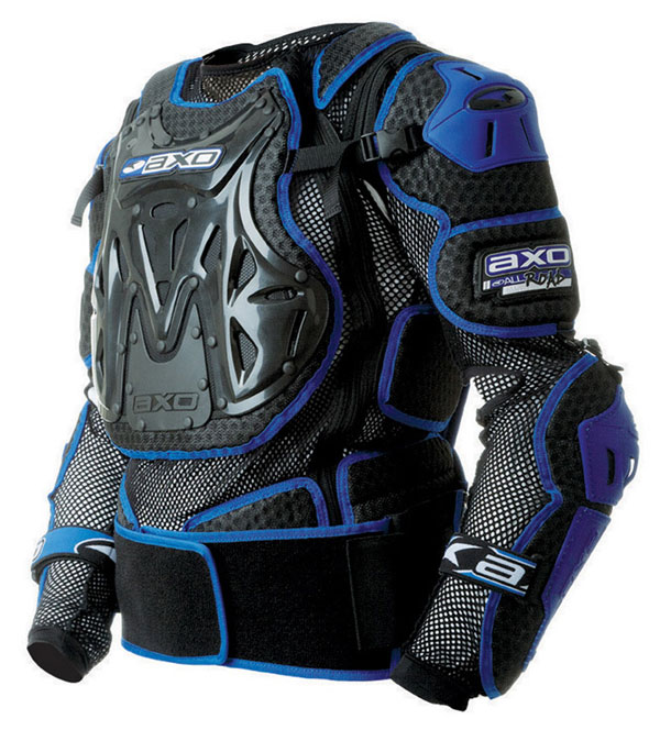 Harness complete AXO 2.0 Massive All Road Black Blue
