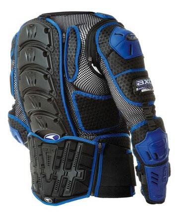 Pettorina completa AXO 2.0 Massive All Road Nero Blu