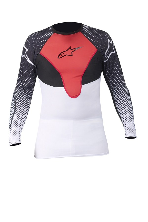 Alpinestars CX Compression jersey white red balck
