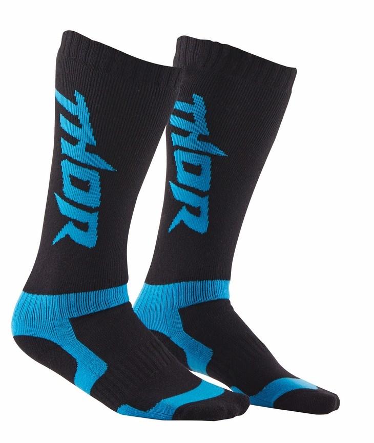 Thor MX socks black blue
