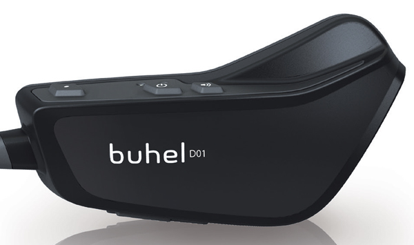 Sistema di comunicazione Buhel D01.1 nero kit singolo