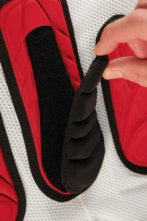 Pantaloni corti ventilati con protezioni soft Atom Ufo Plast