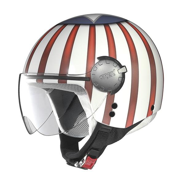 Grex DJ1 City Helmetart jet helmet White USA