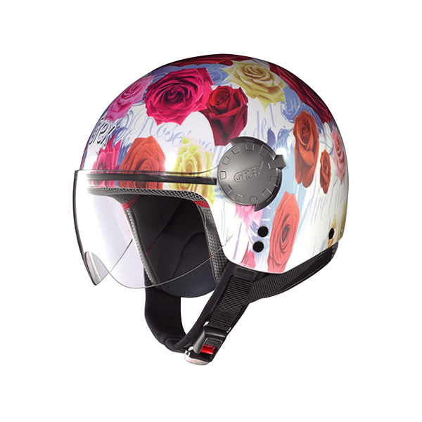 Casco moto Grex DJ1 City Artwork white 135