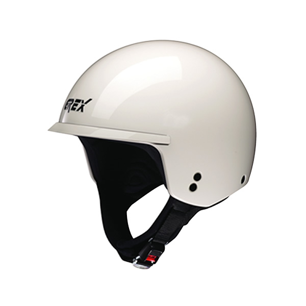 Grex DJ1 Peak One demi-jet helmet white