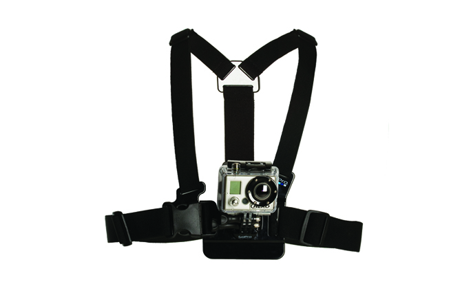 Harness for fixing GoPro Chesty