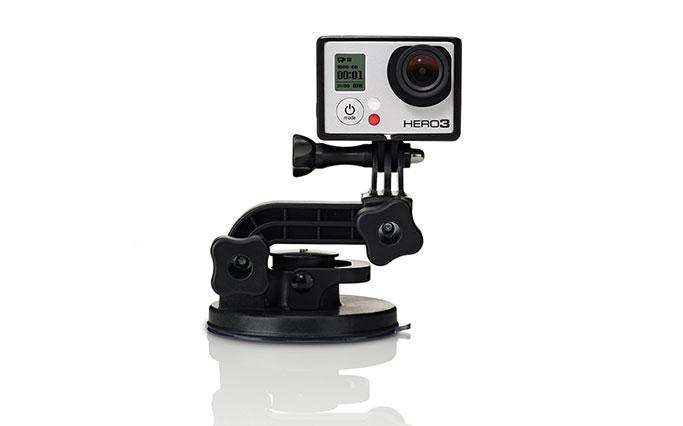 Fissaggio a ventosa GoPro