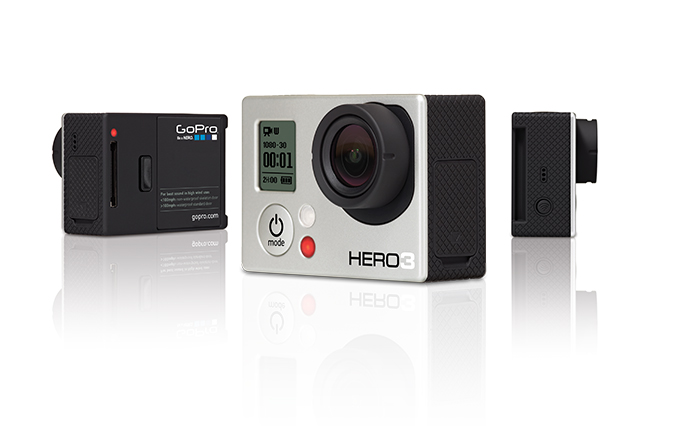 Videocamera GoPro HD Hero3 Silver Edition