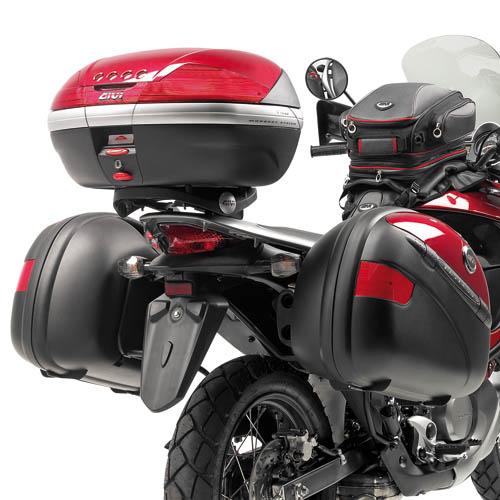 Specific rear plate for Monokey Givi Honda
