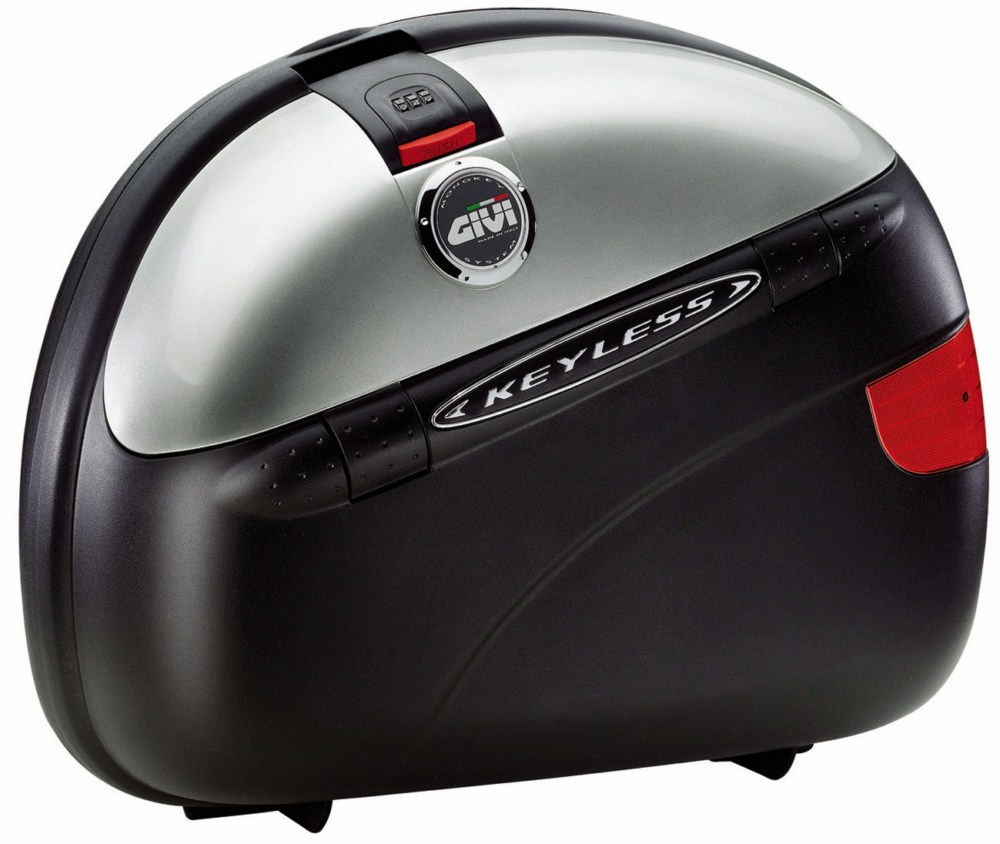 Couple Givi E41 Keyless Monokey side cases