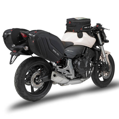 Large Givi side bags Easy