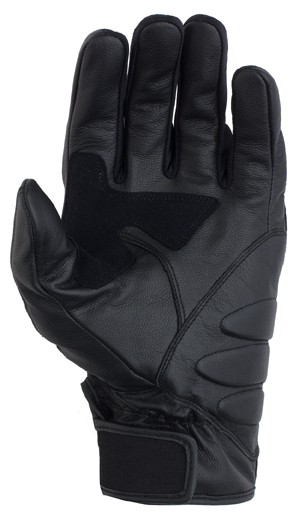 Prexport Eagle leather gloves Black