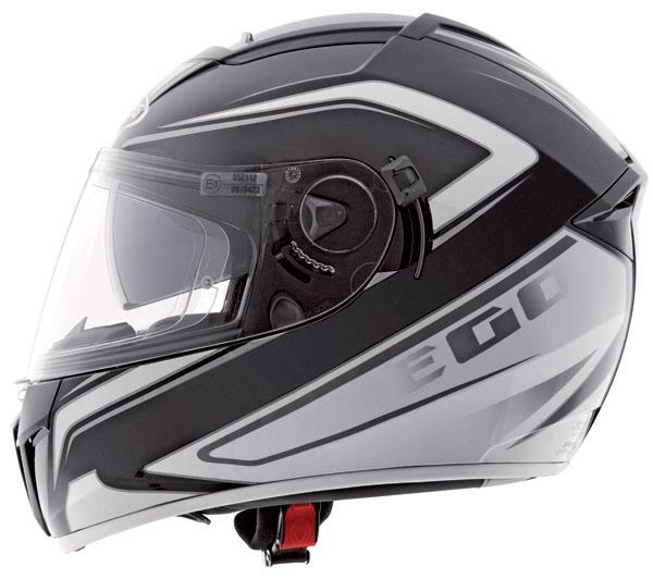 Caberg Ego Elite full face helmet Black White
