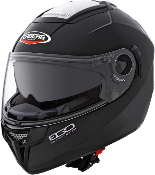 Casco moto Caberg Ego nero lucido