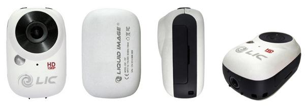 Mini telecamera Full HD Liquid Image Ego bianca