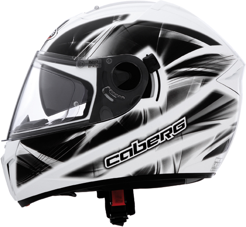 CABERG Ego Ultralight full-face helmet col. white-black