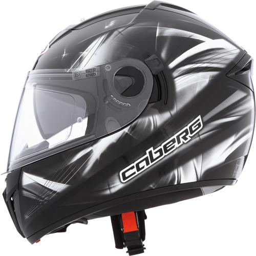 CABERG Ego Ultralight full-face helmet col. black-white