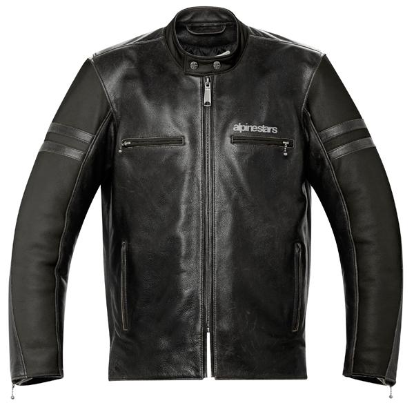 Alpinestars Eliminator leather jacket black