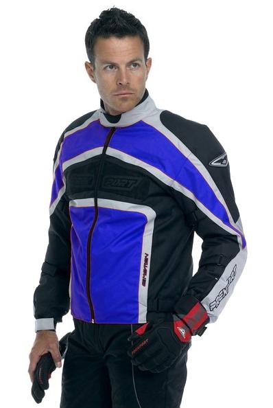 Prexport E-Motion 3 layers jacket Blue Gunmetal Silver