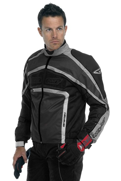 Prexport E-Motion 3 layers jacket Black Gunmetal Silver