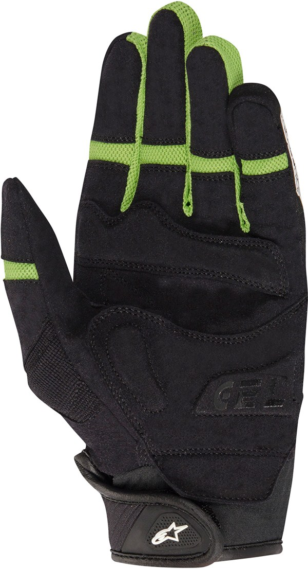 ALPINESTARS Esprit street gloves black-green