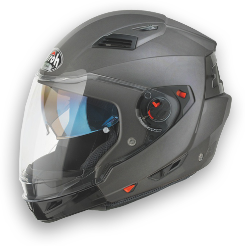 Casco moto crossover Airoh Executive Color antracite opaco
