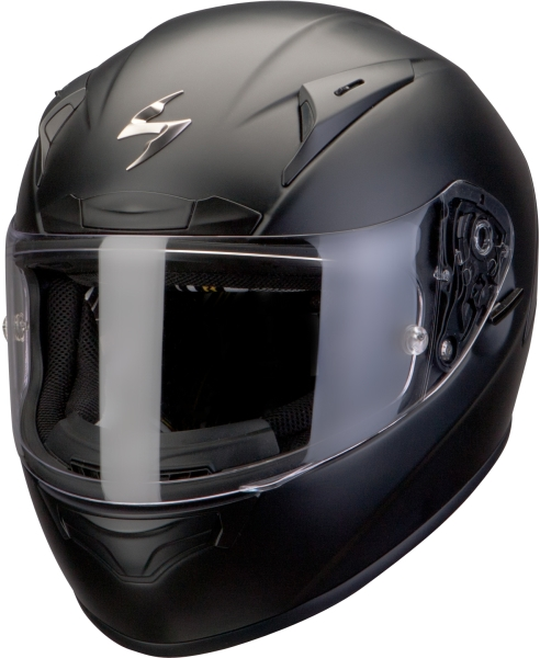 Casco integrale Scorpion Exo 2000 Air Nero Opaco