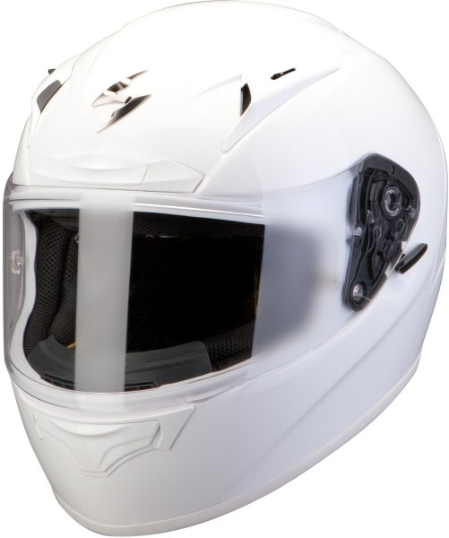 Casco integrale Scorpion Exo 2000 Air Bianco