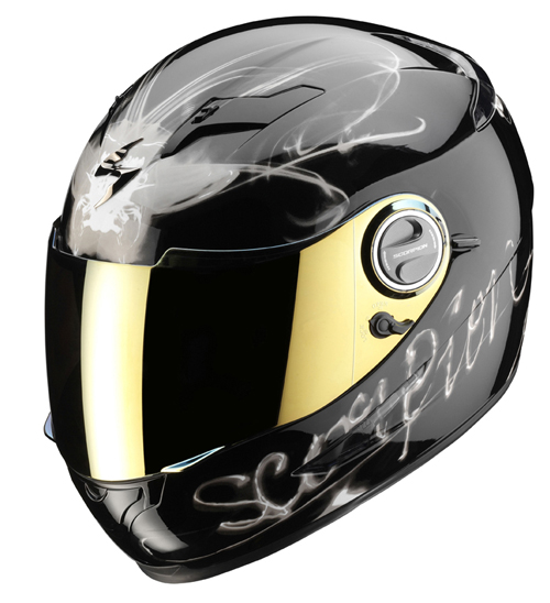 Scorpion Exo 500 Air Ardent full face helmet Black Titanium