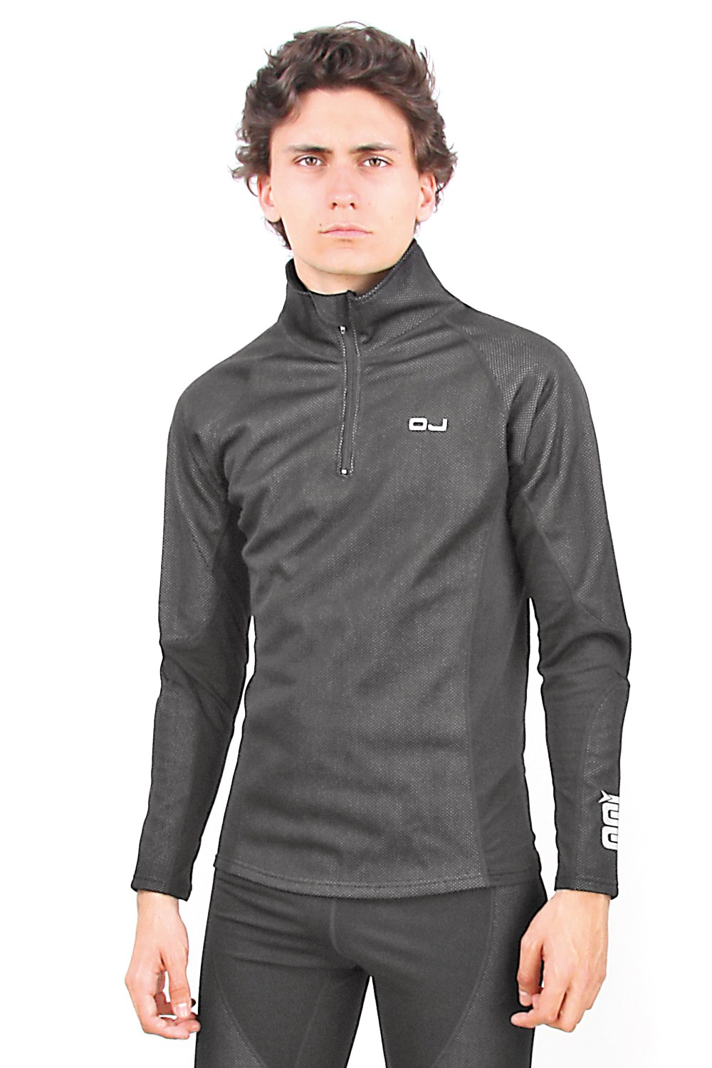 OJ Windshirt thermal shirt black