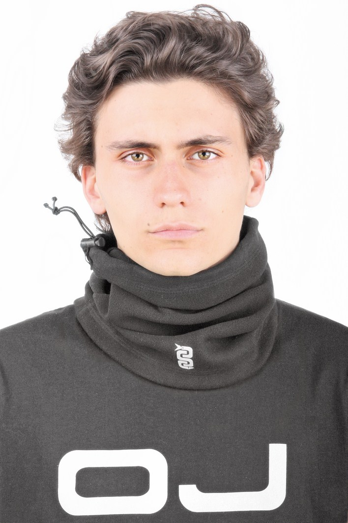 OJ Pile Tube neck warmer black